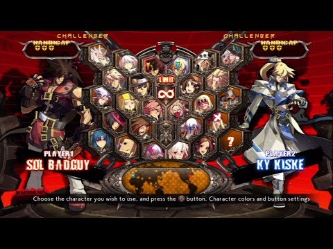 Guilty Gear Xrd REV 2 All Characters (Including DLC) [PS3]