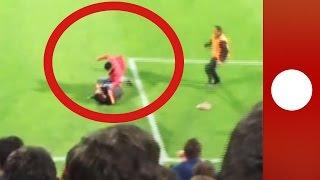 Yarıda kalan Trabzonspor-Fenerbahçe maçının ardında bordo mavililere ağır ceza gelebilir