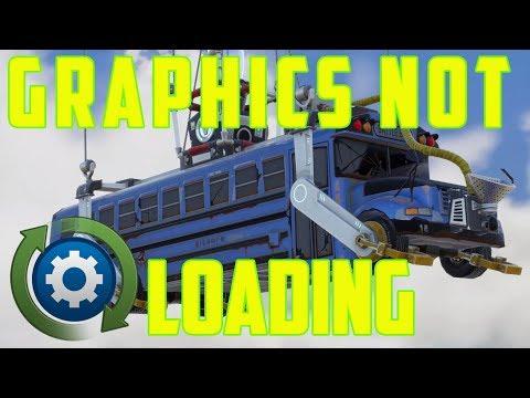 Fortnite Graphics Not Loading Fix PC & Consoles