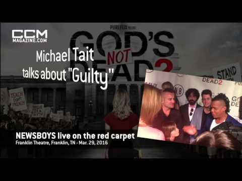 "MICHAEL TAIT talks about ""Guilty"" - 'God's Not Dead 2' red carpet"