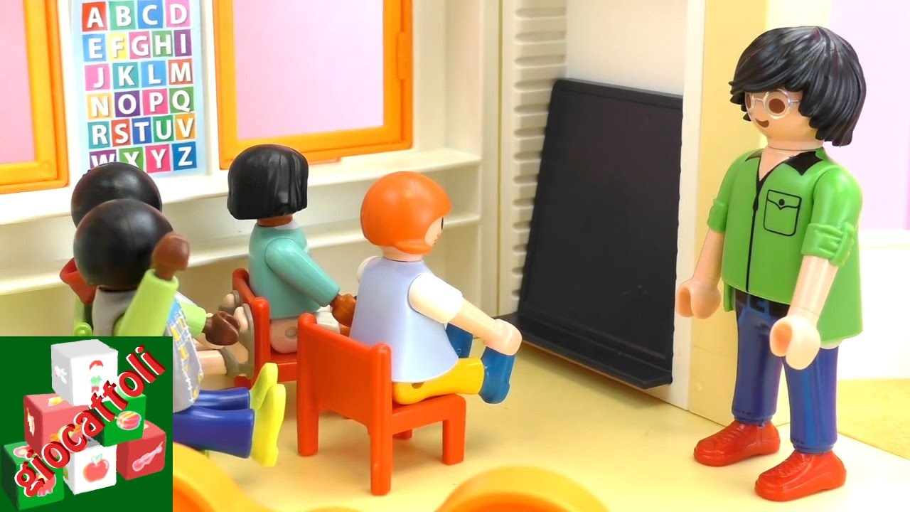 Conosciuto Playmobil film scuola materna - Playmobil Asilo - i bambini  JI18
