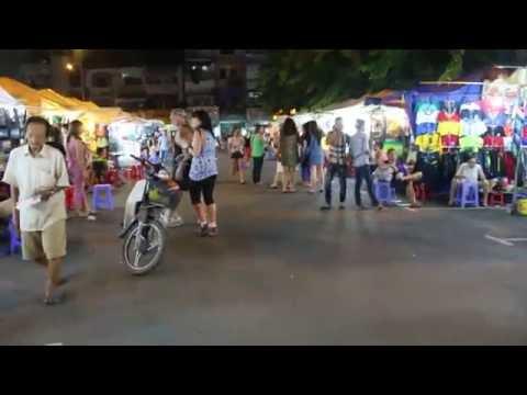 Gece pazarını gezdik! Vietnam (Ho Chi Minh) #3. Gün