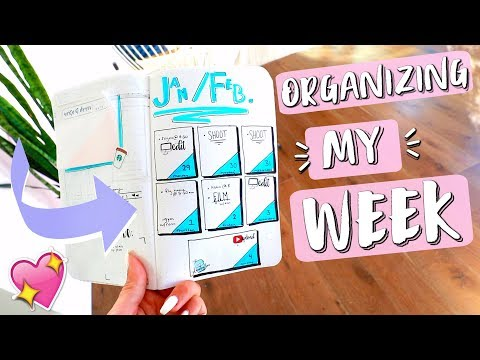 Download Youtube: Organizing My Week with a Bullet Journal!!