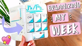 Organizing My Week with a Bullet Journal!!