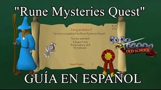 [OSRS] Rune Mysteries Quest (Español)