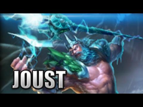 "Poseidon Damage Build ""Wrecking them Mastery X's!"" - Joust, SMITE Season 4"
