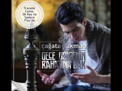 Çagatay Akman Gece Golgenin Rahatna Bak ( Lyrics Video ) #GeceGölgeninRahatınaBak