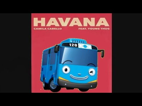 🎶( Parodiy ) HAVANA - camila cabello | Nama-nama bus