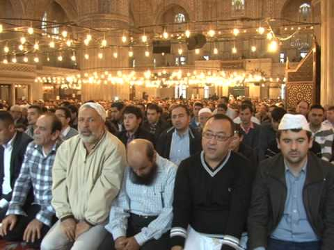 Today's Zaman -- Muslims across Turkey flock to mosques for Eid al Adha prayers