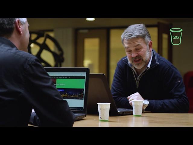Halo Green Cups - Op de werkvloer