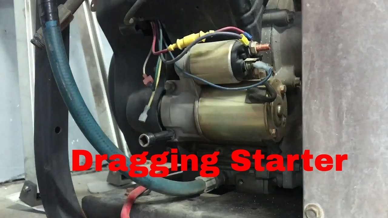 Kohler Command Pro 25hp Starter Remove and Replacement