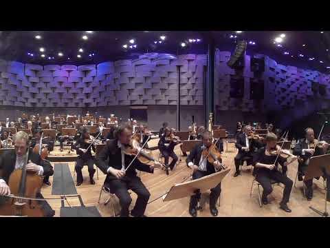 Mahler No. 9 | 3D Sound | 360° Video