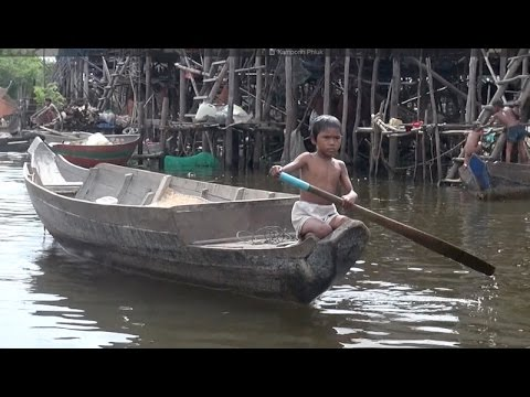 Kampong Phluk: A 'floating village' on Cambodia's Tonle Sap Lake