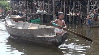 Kampong Phluk: A 'floating village' on Cambodia's Tonle Sap Lake