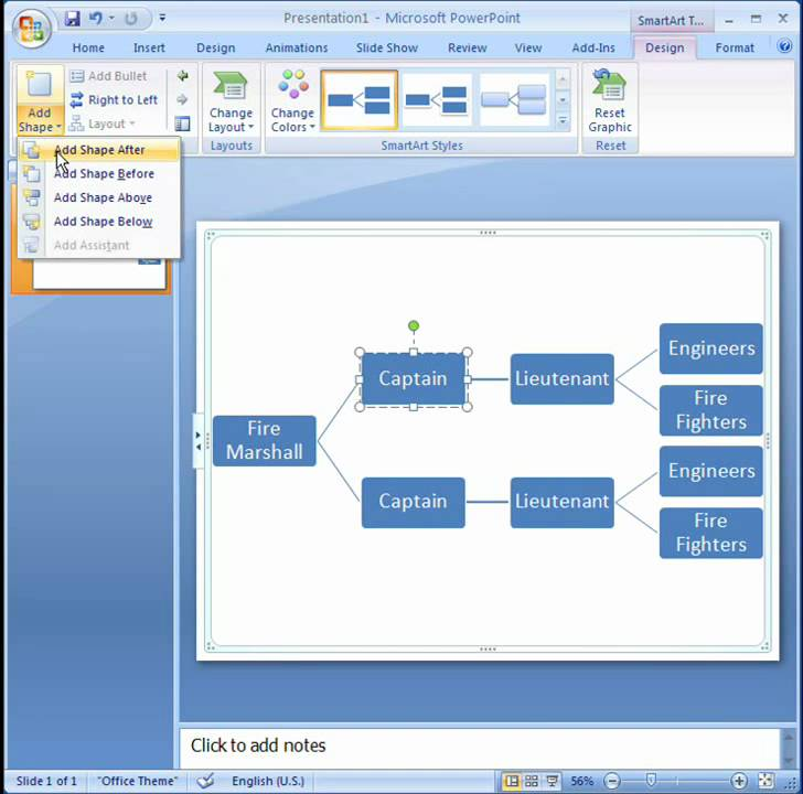 Office 2007 Demo Create a hierarchy - YouTube