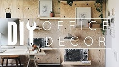 DIY Office Decor Tips + Tricks!