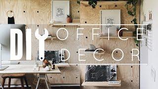 Diy Office Decor Tips   Tricks!