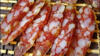 Кнуты - сыровяленная колбаса из свинины