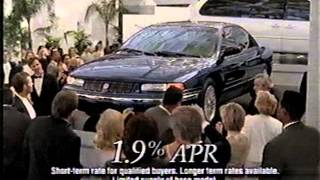 Chrysler Clearance Commercial (1996) Plymouth Dealer Stars of Chicagoland