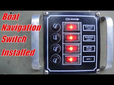 Jon Boat Nav Light Switch
