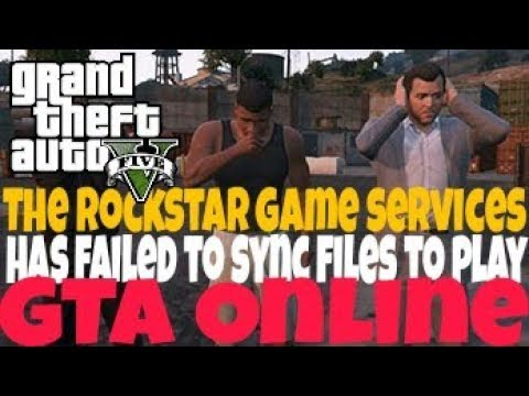 The Rockstar game services has failed to sync files to play GTA Online PS3 HELP