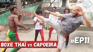 MUAY THAI VS CAPOEIRA ( FAVELAS )