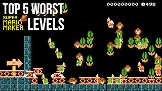 5 Super Mario Maker levels so bad, they