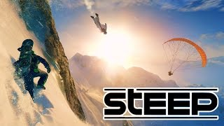 STEEP Open Beta Gameplay Walkthrough! | Wing-Suiting & Parachuting Down A Mountain!(PC/Xbox One/PS4)