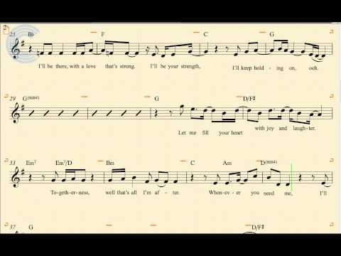 Tenor Sax - I'll Be There - The Jackson 5 - Sheet Music, Chords, & Vocals