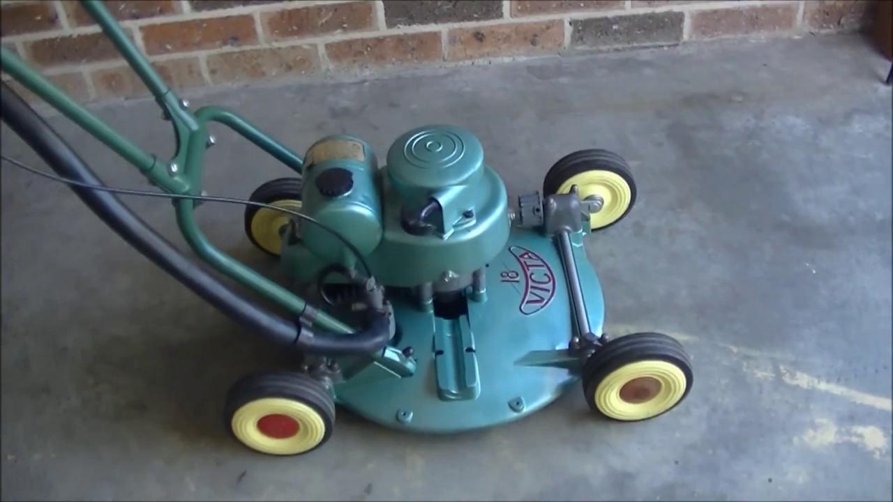 Vintage Victa18 Two Stroke Lawn Mower