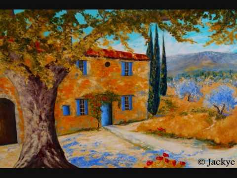 Cafe Aix En Provence Leonard Wren 100% Hand Painted Oil