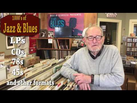The Great New Record and CD Shop in Chicago - Bob's Blues and Jazz Mart