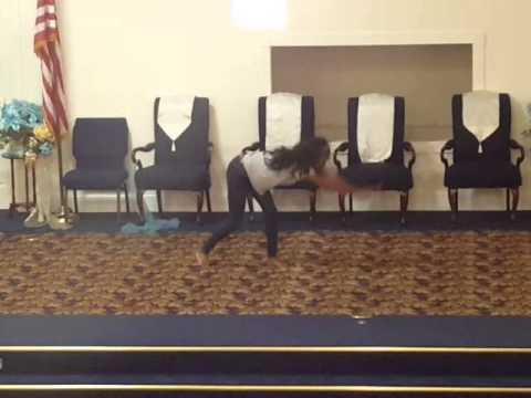 Tboca Praise Dance Routine #1