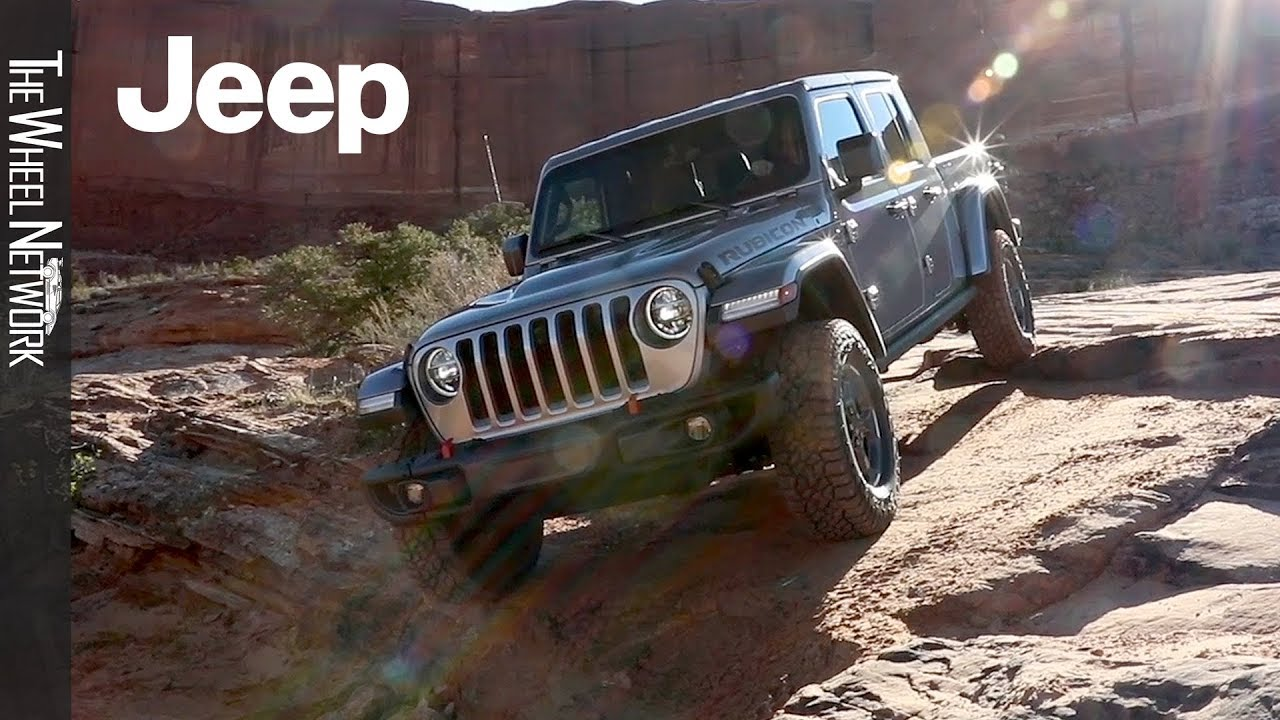 2020 Jeep Gladiator Rubicon Off Road Driving In Moab 2019 Easter Jeep Safari