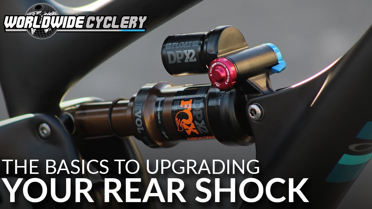 Video] The Basics to Upgrading the Rear Shock On Your