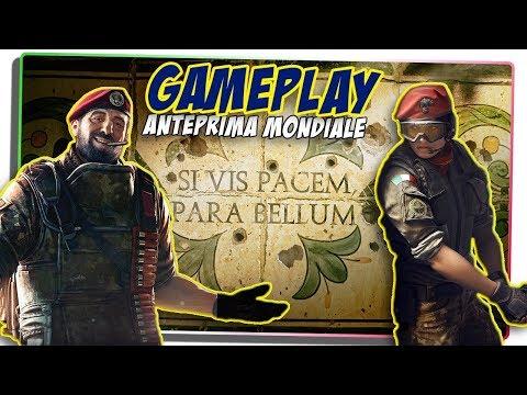 "GAMEPLAY ""OPERATION PARABELLUM"" - Anteprima Mondiale! [Rainbow Six|Siege]"