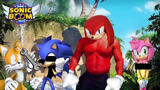 sonic vs kunckles rap battle dubstep