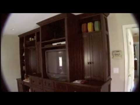 How to Make a Bedroom Wall Unit with Everything .mov - YouTube