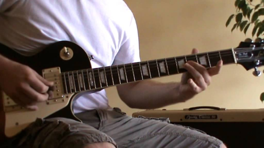 74 75 Solo Cover With Tab Guitar Solo Lesson Youtube