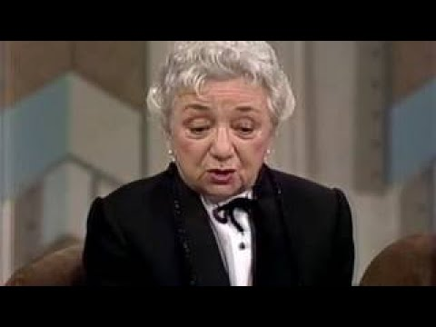 Molly Picon 1980 Interview, George Raft, George Jessel