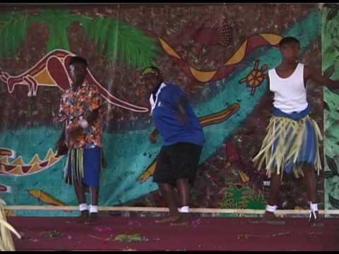 Senior Torres Strait Islander boy dancers, Australia