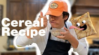 How to make Pancake Cereal (Cinnamon Toast Crunch Recipe)  TikTok Recipe  What I eat in a day