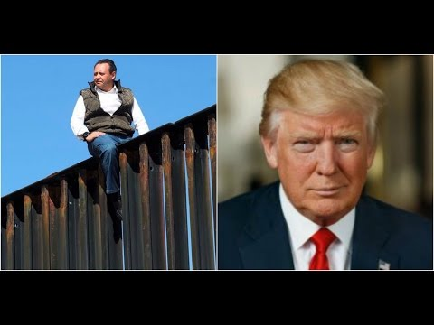 WOW:Mexican Politician Climbs Border Fence Illegally and Posts it On Social Media!!!