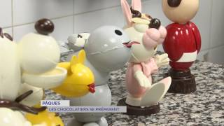 """Chocolat de Pâques : la """"maison bigot"""" se prépare à Versailles"""