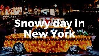 New York Eyes - Snowstorm in New York