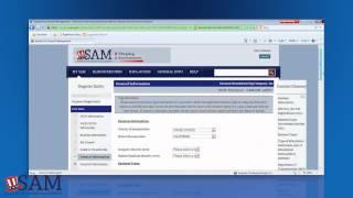SAM - Updating Your Former CCR Registration in SAM