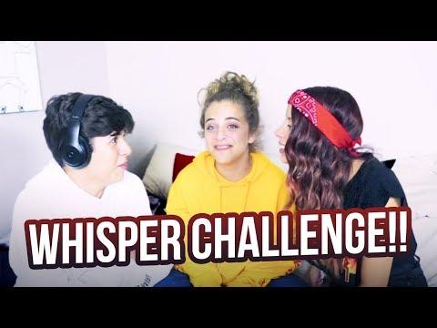 WHISPER CHALLENGE!! ft Mario Selman & Arii
