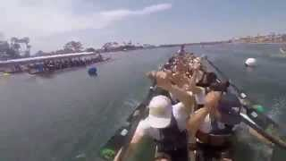 Northwind - Long Beach Dragon Boat Festival 2015 - Mixed 1A Final