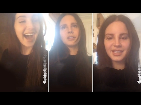 Lana Del Rey   Instagram Livestream   20/02/17