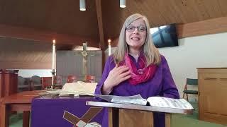 Sunday, February 21, 2021 - First Sunday of Lent